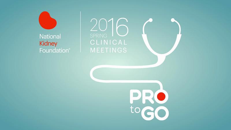 """National Kidney Foundation """"Pro-to-Go"""" program"""