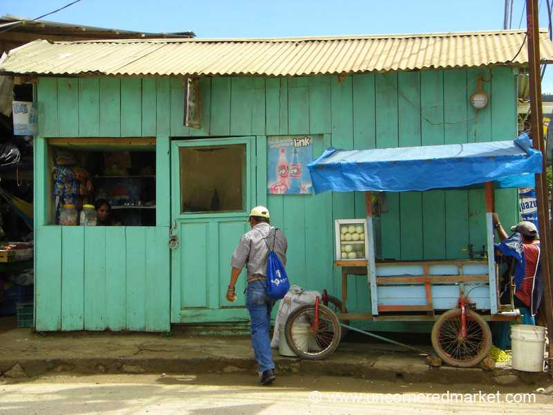 Simple Shop in La Esperanza, Honduras