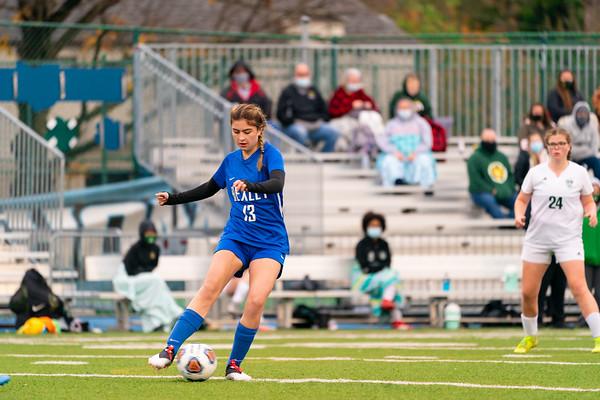 Soccer Girls vs Hamilton Township--Tournament Round 1