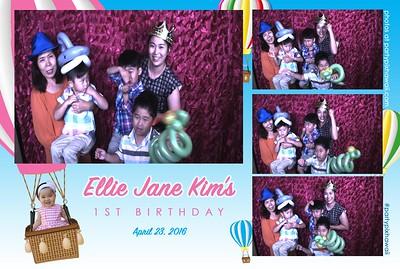 Ellie Jane's 1st Birthday (Slow Motion Photo Booth)
