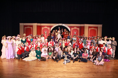 HELLO DOLLY cast and crew 2014