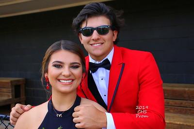 2019 CHS Baseball Prom Pics