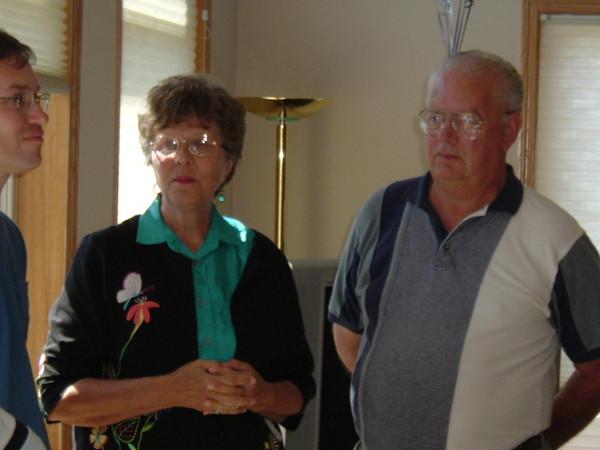 Brad - Marlene and Larry Junnemann