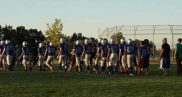 2015 Eagan 8th grade Football