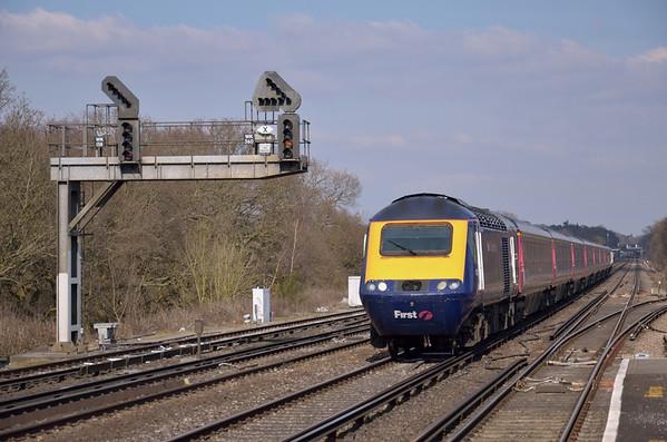 Trains April 2013