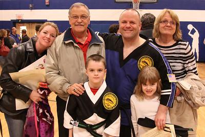 Black Belt Test 5-4-12