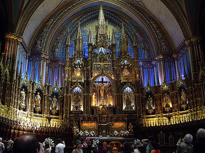 Notre-Dame Basilica Montreal 8.2012
