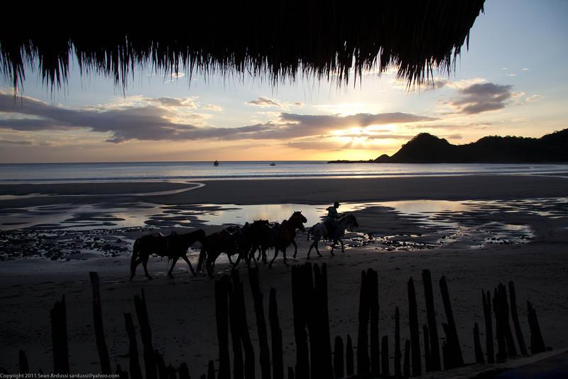 Morgan's Rock sunset
