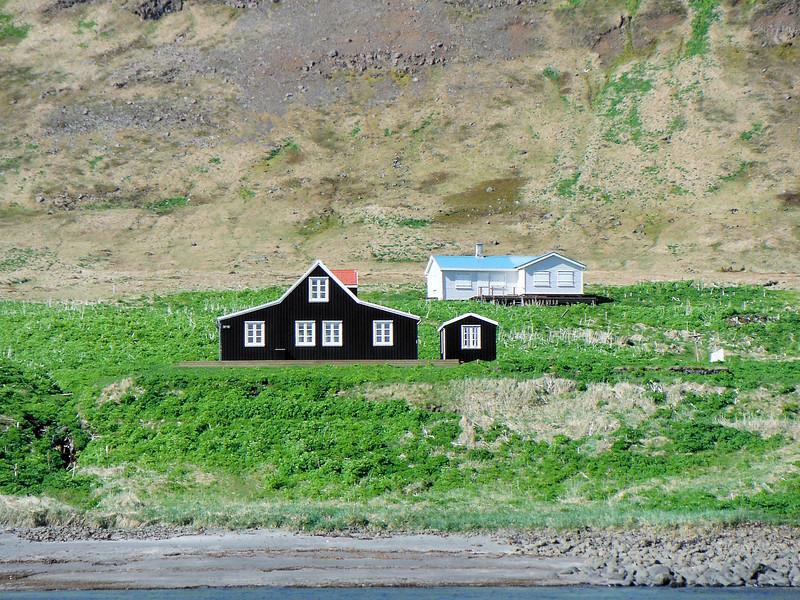 Aðalvík - Sæból. Bólið og Móhúsið.