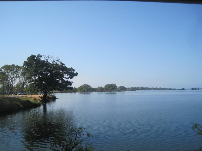Freshwater lake.