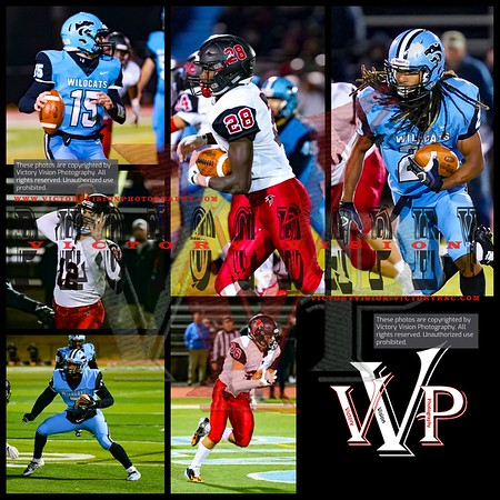 James Madison @ Centreville Varsity Boys Football 11-16-18 | VHSL Regional Playoffs