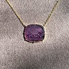 'Push Along' Purple Glass Pendant, by Seal & Scribe 20