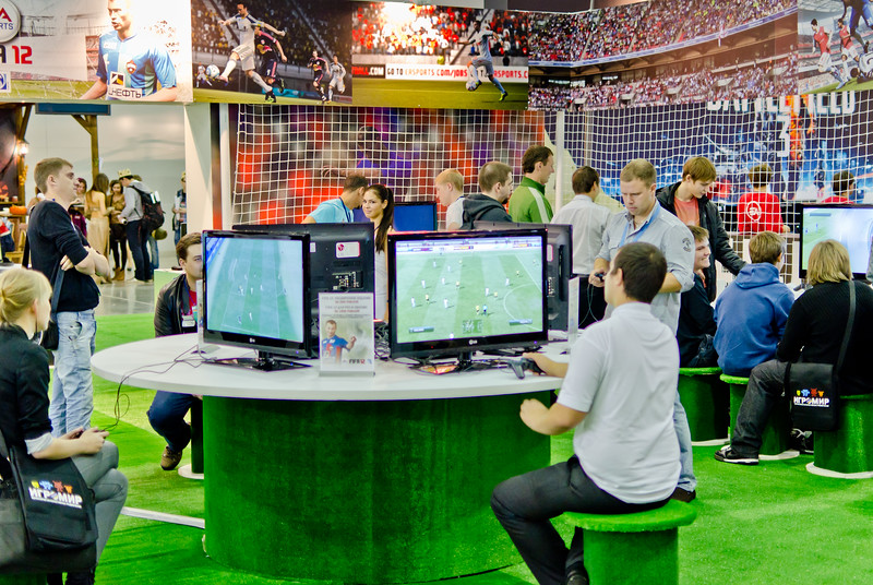 FIFA 12 booth at Igromir 2011