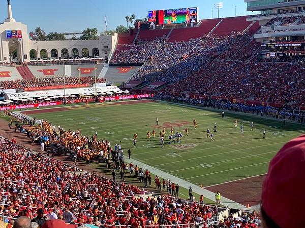 2019.11.23 UCLA football game vs USC