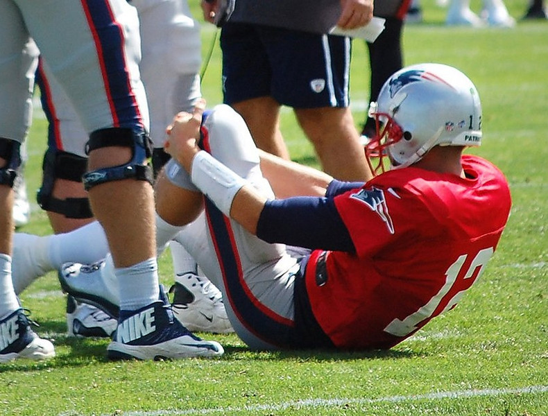 ". <p>2. TOM BRADY  <p>Millions of prayers from Tebow Nation were answered. Almost. (unranked) <p><b><a href=\'http://www.twincities.com/sports/ci_23867516/tom-brady-injury-scare-adds-patriots-cruel-summer\' target=""_blank\""> HUH?</a></b> <p>    (AP Photo/Will DiTullio)"