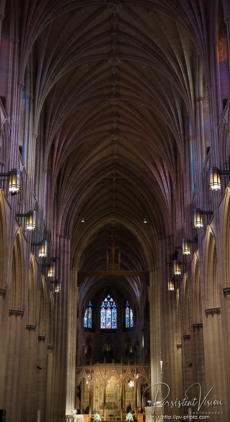 January: National Cathedral
