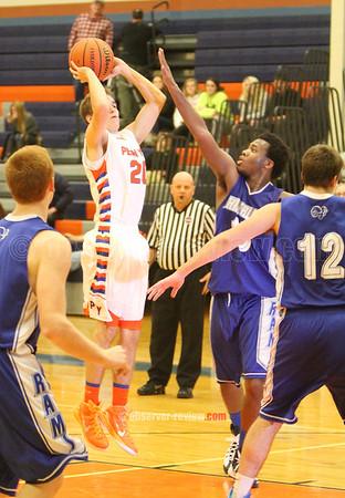 Penn Yan Basketball 12-5-14