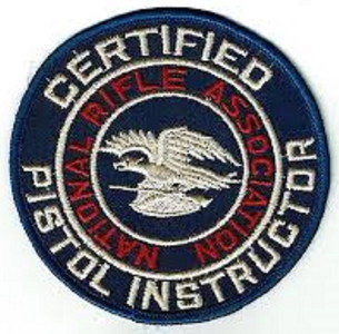 Firearm Instructor Patches