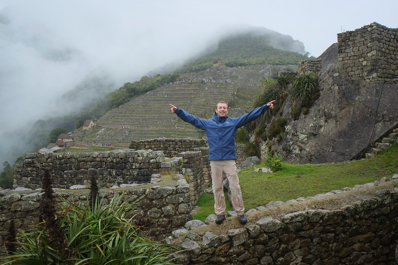 Boris staking his claim to officially rediscovering Machu Picchu
