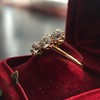 1.38ctw Antique Old European Cut Diamond 3-Stone Ring 24