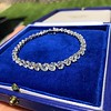 9.50ctw Round Brilliant Diamond Tennis Bracelet 13