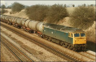 Rail Scene - 1986