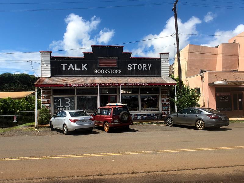Talk Story bookstore, Hanapepe, Kauai