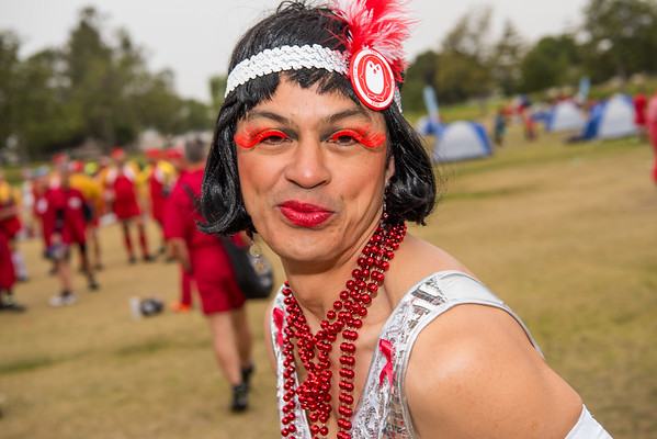 AIDS/Lifecycle 2016 - Day 5 Red Dress Day