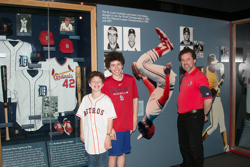 Cardinals & family -- A trip to the Baseball Hall of Fame, Cooperstown, NY, June 2014