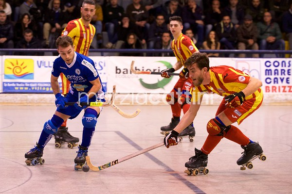 Quarti di finale: Amatori Wasken Lodi vs Follonica Hockey