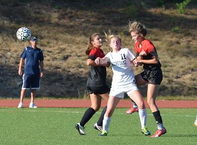 Varsity Girls Soccer:  GA vs Notre Dame