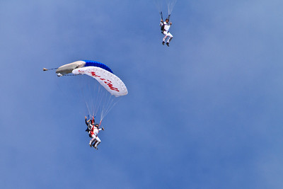 Paragliding and Skydiving