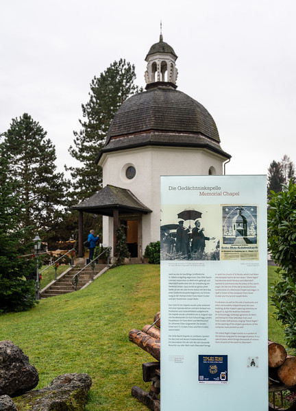 The Silent Night Chapel, built in 1937