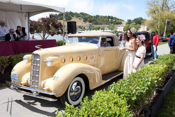 2011 Concours d'Elegance Best in Class Awards