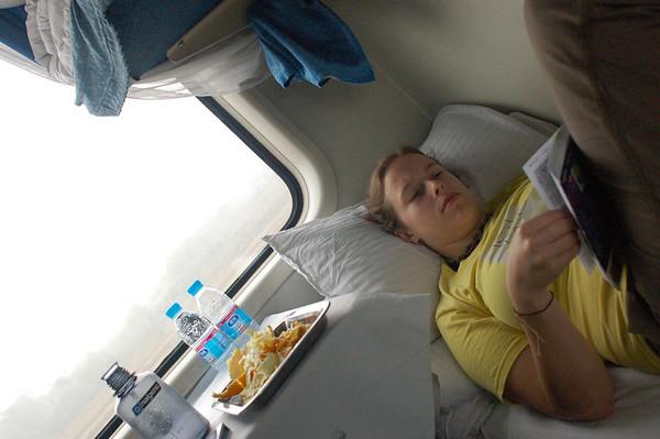 Hangzhou to Yichang (sleeper train)