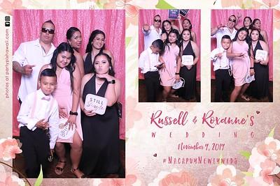 Russell & Roxanne's Wedding (Magic Mirror Photo Booth)