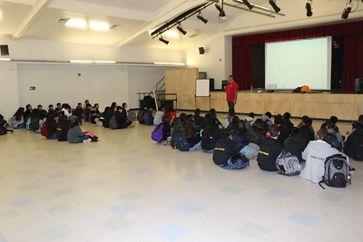 5/2/18 - 5/4/18 Drug Awareness Middle School Assemblies