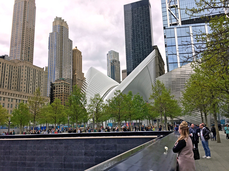 9/11 Memorial North Pool and the Oculus
