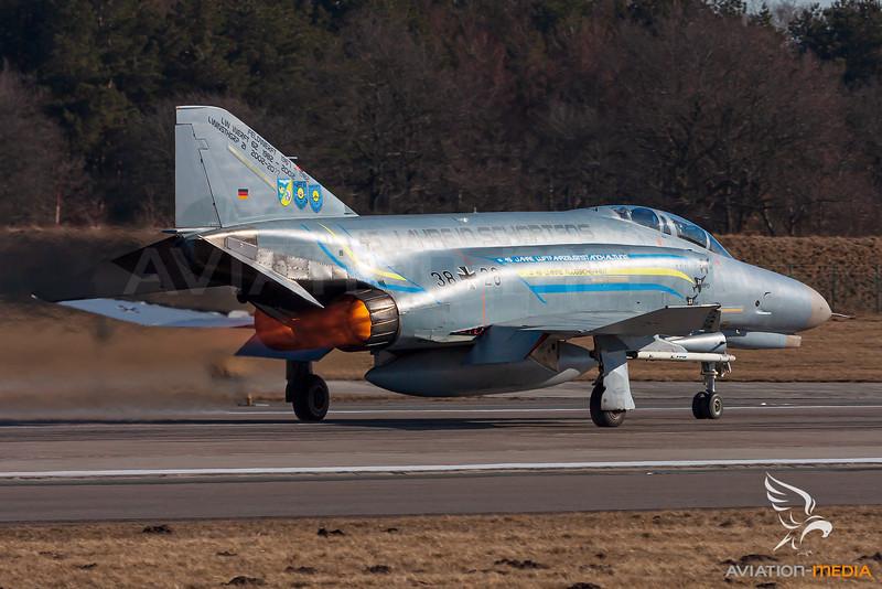 Germany Air Force / McDonnell Douglas F-4F Phantom II / 38+28
