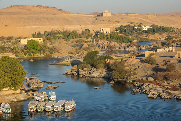 Aswan and Tomb of Nobles
