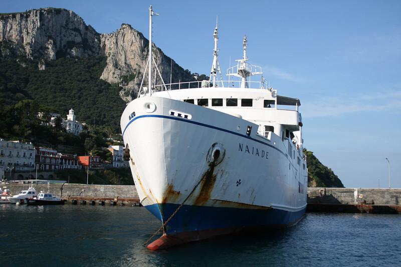 2009 - F/B NAIADE in Capri.