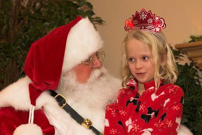 Santa Visit 2008