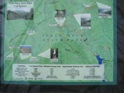 Table Mountain, North Carolina Hke