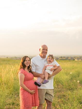 Greene Family Maternity Session