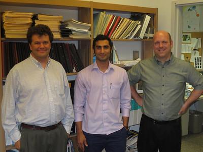 Shayan at MIT Haystack 2013