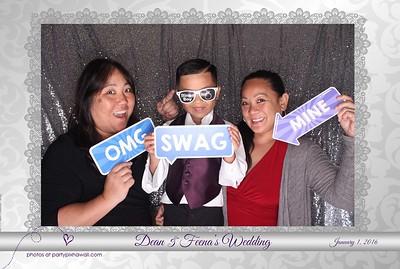 Dean & Feena's Wedding (LED Open Air Photo Booth)