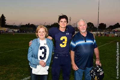 Varsity Football Senior Night