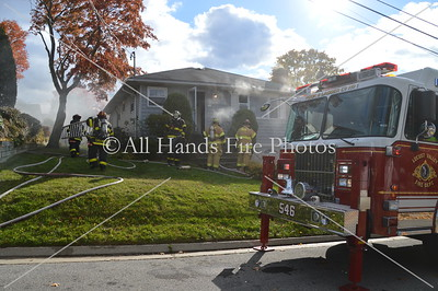 20131108 - Locust Valley - House Fire