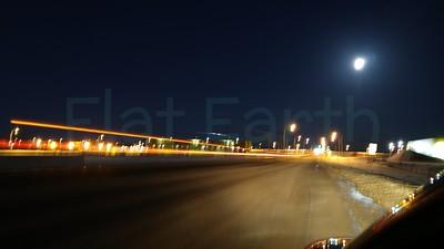 Full Moon & Time Lapse Streaks