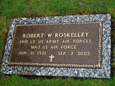 RWR Grave marker
